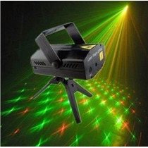 Mini Laser Stage Lighting Projetor Holográfico Tripé Yx-08