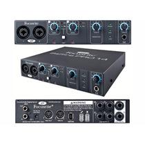 Interface Firewire 96khz 24bit 8 In 6 Out Saffire Pro 14 12x