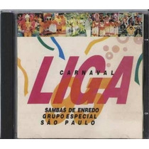 Cd - Sambas De Enredo De São Paulo - Carnaval 1995 - Liga