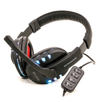 Fone De Ouvido Headset Gamer Iluminado Usb 2.0 C/ Microfone