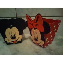 Centro De Mesa Minnie E Mickey