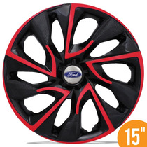 Carlota Esportiva 15 Ds4 Red Vermelha Ford New Fiesta Focus