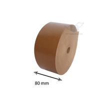 Fita Adesiva Papel Kraft Gomada - Medida 80 Mm - 2 Unidades