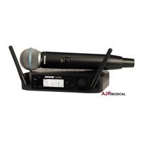 Microfone Shure Glxd24/beta58a Glxd-24/beta-58 B58a Original