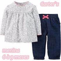 Roupinhas Importadas Para Bebê - Carters Original - Menina