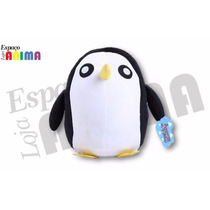 Pelúcia Pinguim Hora Da Aventura Cartoon Pronta Entrega