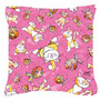 Rosa Peixe Gato Toss Tecido Almofadas Decorativas Alt1006pw1