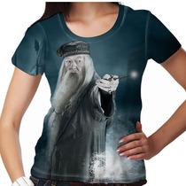 Camiseta Harry Potter Dumbledore Feminina