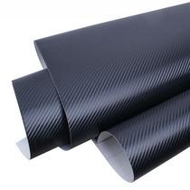 Adesivo Fibra De Carbono Envelopamento Plotagem 150cm X 50cm