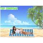 Curta O Verão Com Esteira De Praia Rolo 86 X 180 Cm