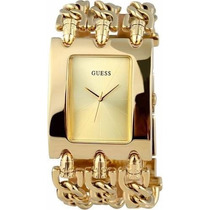 Relogio Guess 3 Correntes Dourado Feminino Griffe Luxo