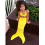 Cauda De Sereia E Top Pra Nadar Infantil