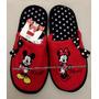Pantufa Chinelo Adulta Mickey E Minnie Disney Tamanho 38/39