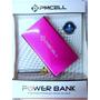 Power Bank 10000mah 4x Para Motorola Ex112 Ex115 Rosa