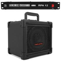 Kit Caixa Amplificada Guitarra 20w C/ Bateria + Filtro Linha