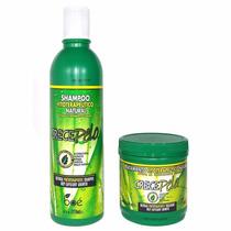 Shampoo E Mascara Crece Pelo