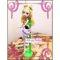 Suporte Verde Para Boneca Monster High * Barbie * Ken * Susi