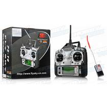 Radio Flysky Fs T6 2.4ghz. Digital Controle 6 Canais Fs-t6