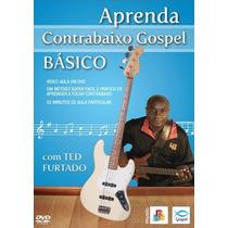 Dvd Aula Aprenda Contrabaixo Gospel Básico - Abc Music Nfe