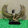 Deusa Egípcia Isis Egito Em Resina
