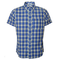 Camisa Xadrez Masculina Abercrombie & Fitch Crown