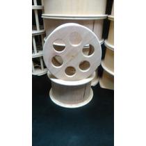 Carretilha Para Pipa De Madeira 9 Polegadas - 23cm