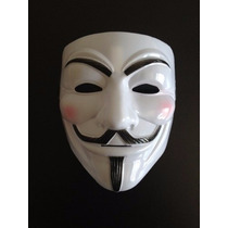 Máscara V Vingança Anonymous Vendetta Envio 24 Horas