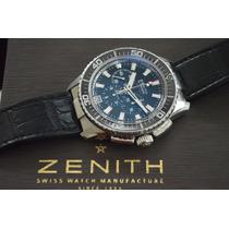 Raro Zenith El Primero Stratos - O Mais Lindo Já Fabricado