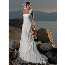 Vestido De Noiva Sereia Chiffon Importado Pronta Entrega