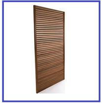 Painel De Madeira Para Jardim Vertical Ou Tv - 1,80 X 90 Cm