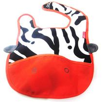 Babadores Infantil- Abelha Elefante Macaco Zebra Gato Girafa