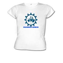 Camiseta Baby Look Curso Engenharia Química