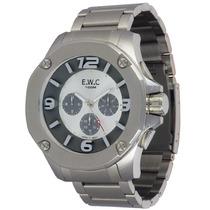 Relógio Masculino Ewc Octagon - Cronógrafo, Emt14027-9