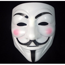 Máscara Filme V De Vingança Anonymous Vendetta Guy Fawkes