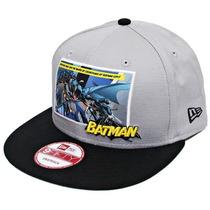 Boné Snapback Batman Cavaleiro Das Trevas Aba Reta Ajustável
