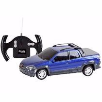 Carro Controle Remoto Fiat Strada 7 Funcões Cks Toys