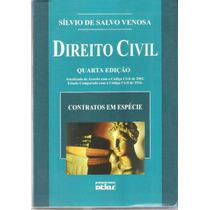 Direito Civil Quarta Edição - Sílvio De Salvo Venosa
