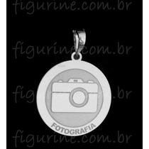 Pingente Fotografia / Profissão Em Prata 925
