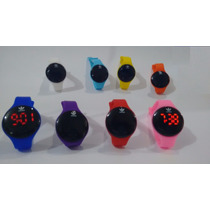 Relógio Pulseira Adidas Digital Led Silicone Sport Atleta