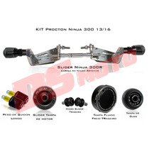 Kit Full Slider Procton Racing Kawasaki Ninja 300 - 6 Peças