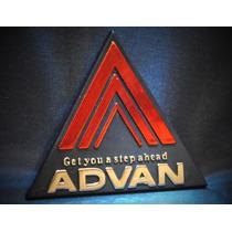 Emblema Yokohama Advan - Vw Bmw Audi Subaru Mitsubishi