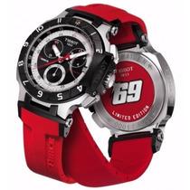 Relógio Tissot T-race Vermelho Moto Gp Pronta Entrega 12x