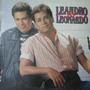 Leandro E Leonardo - Lp O Que Eu Sinto + Encarte - 1992