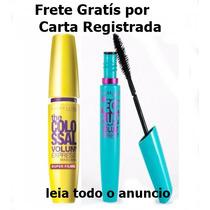 Kit 2 Mascaras De Cílios Maybelline Colossal E Mega Plush