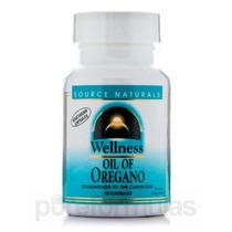 Wellness Óleo De Orégano - 30 Cápsulas Por Source Naturals