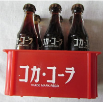 Mini Engradado C/ 6 Garrafas Coca-cola Vidro - Déc 80 - A26