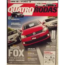 Quatro Rodas 597 Nov/09 Fox Agile Sandero Astra Golf I30 Tr4