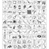 Carimbo Auto Ditado Ii Infantil Varias Desenhos 2072 - Carlu