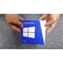 Microsoft Windows 8.1 Professional Full Fpp 64bits Box Novo