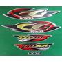 Kit Adesivos Honda Cg Titan 125 Ks 2001 Prata